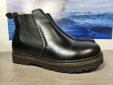Birkenstock Stalon Chelsea Boots Black Leather 41 Wmns 10 Mens 8