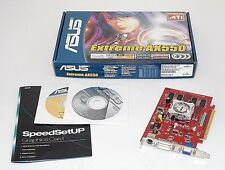 NEW ASUS EAX550/TD/128M ATI RADEON X550 128MB 64-bit PCI-Express x16 Video Card