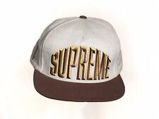 Supreme Bevelled Logo 5-Panel Hat - Fall/Winter 2012