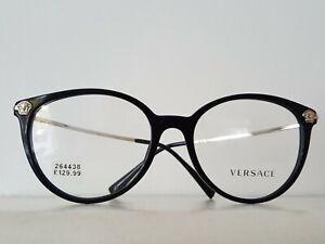Versace Glasses Model 3251- B Cat Eye Black / Gold