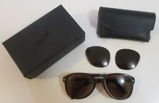 Persol Steve Mcqueen Folding Sunglasses (PO0714) Tortoise/Brown