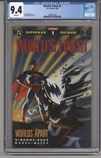 WORLD'S FINEST #1 CGC 9.4 WPGS DAVE GIBBONS STORY STEVE RUDE C&A 1990