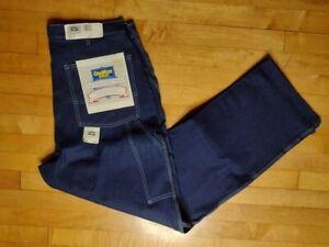 NWT OshKosh B'Gosh Carpenter Dark Blue Jeans 400-1003 Size 38X32 Union Made
