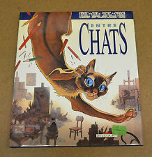 ANDREAS, FRANK, FRANQUIN, ... COLLECTIF - ENTRE CHATS - EO 1989 ( TBE )