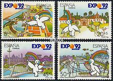 Expo 1992. 1990  Edifil 3050-3052 Nuevo**
