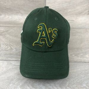Green and yellow Oakland Athletics Cap - 7up on the side