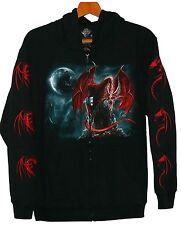 Sweat chaqueta: dragón, talla M, misticismo dragón Dragon Dark Fantasy calavera Smaug