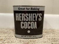 Vintage Hershey's Cocoa Tin Can 8 oz Size - Can Only