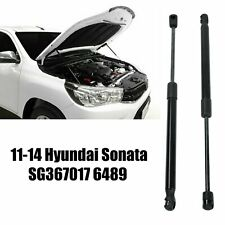 2Pcs Front Hood Lift Supports Shocks Struts For 2011-2014 Hyundai Sonata