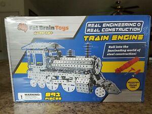 Fat Brain Toys Steel Train Engine 891 pcs like Erector