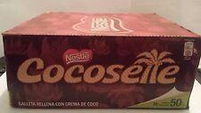 1 Caja de Cocosette nestle savoy-18 unidades FREE SHIPPING ALL USA
