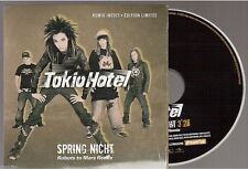 TOKIO HOTEL spring nicht CD PROMO france french card sleeve EDITION LIMITEE