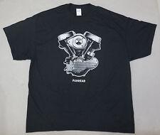 PANHEAD ENGINE T-shirt - S to 6XL - Harley Davidson Biker