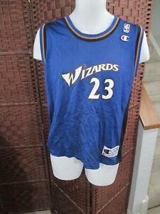 Vintage Champion Michael Jordan Washington Wizards jersey Youth Large 14-16