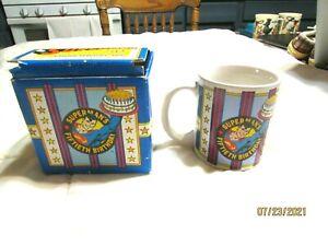 Superman 50th Birthday 1986 DC Comics Commemorative Coffee Mug With Original Box