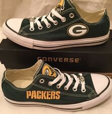 Custom Green Bay Packers Converse Chuck Taylor Sneakers NFL