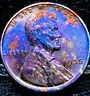 """1935 P Lincoln Wheat Penny Cent- """"Beautiful Toning"""" SUPERB MS GEM BU 00"""