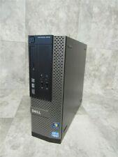 DELL OPTIPLEX 3010 SFF PC i3-3225 3.3Ghz 8GB RAM PC DESKTOP COMPUTER!
