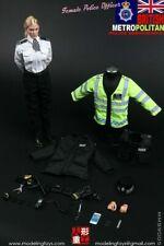 MODELING TOYS - 1/6 - BRITISH METROPOLITAN  POLICE SERVICE FEMALE POLICE OFFICER