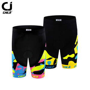 CHEJI Children Kids Bike Shorts Padded Girls / Boys Cycling Shorts Pink / Yellow