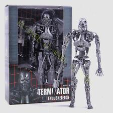 "NECA Terminator T-800 Endoskeleton 7"" Arnold Schwarzenegger Figurine Modèle"