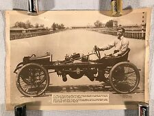 Vintage Reo Racer Danny Wirgus J.B. Porter Photograph Reproduction Poster