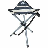 Trespass RITCHIE Camping Fishing Folding Tridpod Stool Seat With Carrying Bag