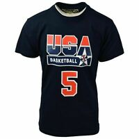 Mitchell & Ness Men's Robinson #5 USA Basketball Dream Team S/S T-Shirt