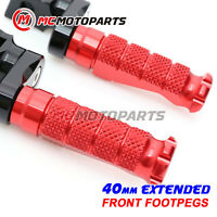 CNC R-FIGHT Front Foot Pegs 40mm Extended For Ducati Sport 1000/S/BP All Year