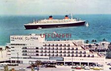 Sheraton Yankee Clipper Hotel, Fort Lauderdale, Fl S.S. France in background