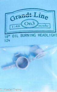 "Grandt Line On3 #124 (18"" Oil Burning Headlight ) On3 ( Plastic )"