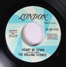 Rock 45 The Rolling Stones - Heart Of Stone / What A Shame On London