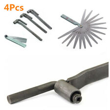 3Pcs Motorcycle Adjustment Tool Valve Screw Wrench 8mm 9mm 10mm+1x Feeler Gauge