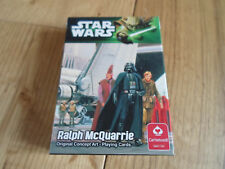 Star Wars Ralph McQuarrie Concept Art Playing Cards (MINT/NEW)