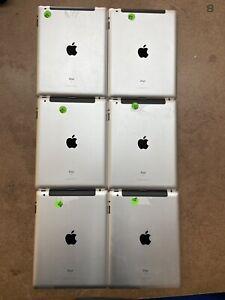 LOT OF 6- Apple iPad 2 A1397 16/32GB - WiFi Cellular (Verizon) - Tested/Working