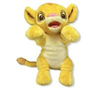 Disney Babies Disneyland Baby Simba Stuffed Snuggle Plush! Lion King Cute Clean!