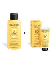 Angstrom Hydraxol SPF50+ Ultra Idratante Latte Solare Corpo + Crema Solare Viso