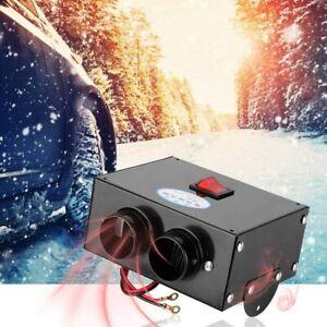 500W 12V Car Heater Defroster Cooler Dryer Fan Demister Portable Fast Heating UK