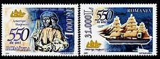 2004 Amerigo Vespucci,Italian Explorer,cartographer,Ship,Map,Romania,Mi.5793,MNH