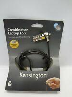Kensington K64673US Combination Laptop Lock Cable *New Unused*
