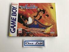 Notice - Disney's Aladdin - Nintendo Game Boy - PAL NEU5