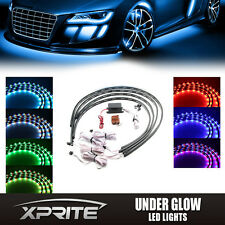 7 Color New Version 5050 LED Strip Under Car glow Underbody Neon Lights Kit