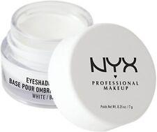 NYX Professional Makeup Eyeshadow Base, White 0.25 oz