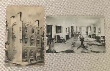Vintage US Post Cards Fenimore House Museum,The Duncan-Stiles House Albertype Co