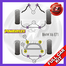 BMW E71 X6 (2007 Powerflex Complet Bush Kit