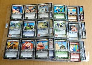 """MULTI-LIST SELECTION OF """"DRAGON BALL Z CELL GAMES CCG""""  SLEEVES OF CARDS 2002"""