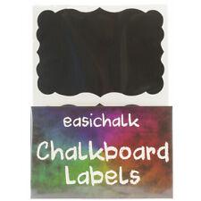 easichalk® 12 Large Extra Fancy Chalkboard labels.