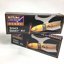 Boy Cub Scouts Vintage 1996 Space Derby Race Kits Set Homeschool 4H Project