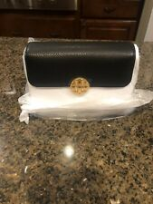 NWT Tory Burch Black CHELSEA CONVERTIBLE MINI Crossbody Handbag