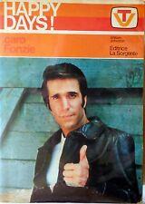 HAPPY DAYS CARO FONZI EDITRICE LA SORGENTE 1978